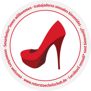 Roter Stöckelschuh (Logo)